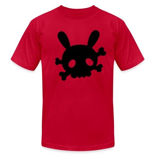 Retro Splash Bunny - Men's  Jersey T-Shirt