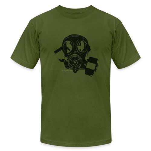 Gas Mask T-Shirt - Men's Fine Jersey T-Shirt