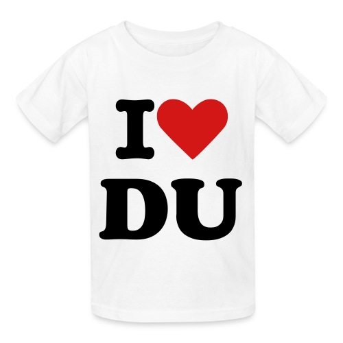 i love DU - Kids' T-Shirt