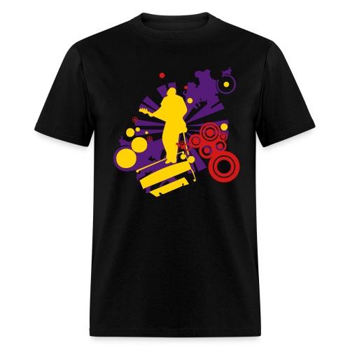 Groovin' - Men's T-Shirt