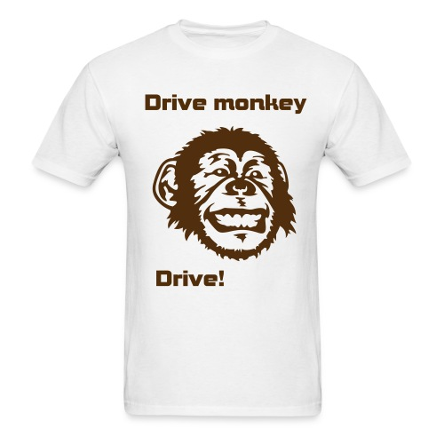 Drive monkey Drive!! - Men's T-Shirt