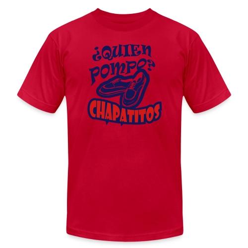 ¿Quien Pompo? - Men's Fine Jersey T-Shirt