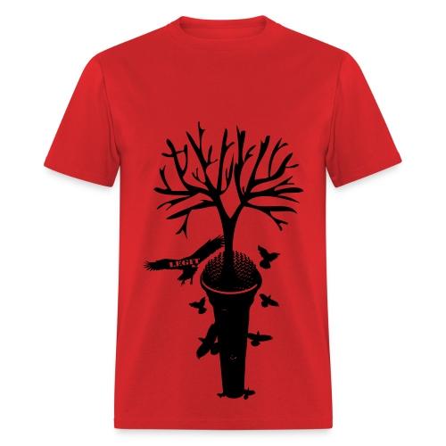 Roots red tee - Men's T-Shirt