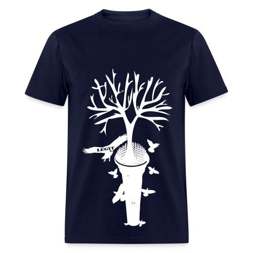 Roots Blue tee - Men's T-Shirt