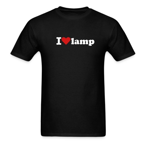 I LOVE LAMP T-Shirt - Men's T-Shirt