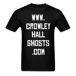 Crowleyhallghosts.com T-Shirt - Men's T-Shirt