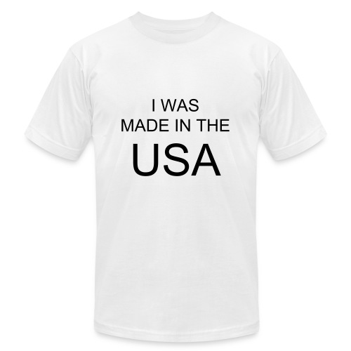 Made in the USA - Men's Fine Jersey T-Shirt