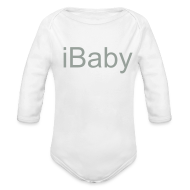 Baby Bodysuits ~ Long Sleeve Baby Bodysuit ~ iBaby Baby Longsleeve - iFamily Collectables
