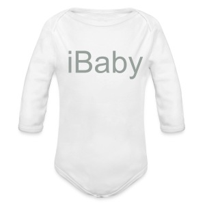 iBaby Baby Longsleeve - iFamily Collectables - Long Sleeve Baby Bodysuit