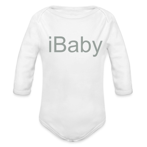 iBaby Baby Longsleeve - iFamily Collectables - Organic Long Sleeve Baby Bodysuit