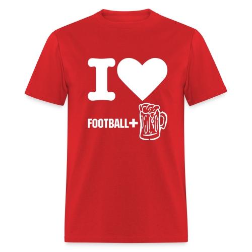 Football Red - Men's T-Shirt