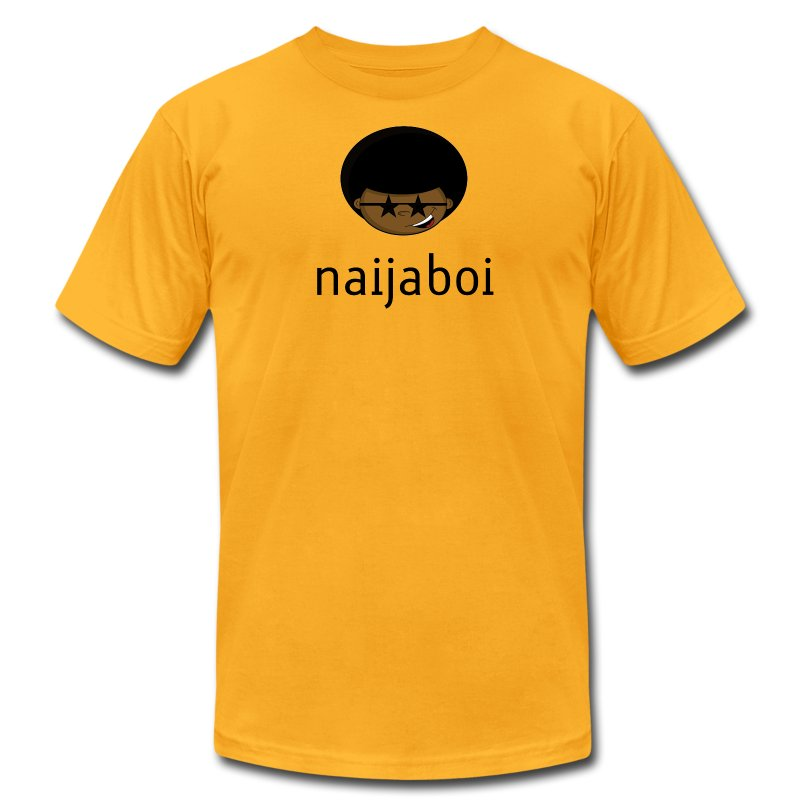naijaboi - Men's T-Shirt by American Apparel