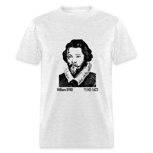 Byrd Portrait - Ash - Men's T-Shirt