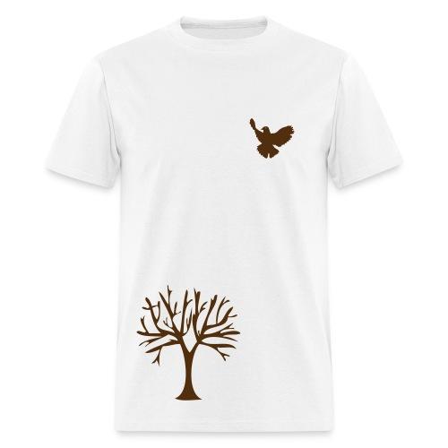 Bird and Tree - Men's T-Shirt