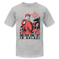 T-Shirts ~ Men's T-Shirt by American Apparel ~ Gulag!