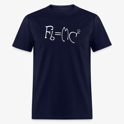 Einstein's Half Step Theory - Men's T-Shirt