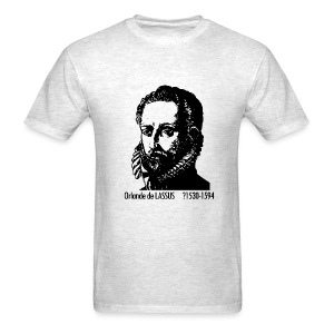 Lassus Portrait - Ash - Men's T-Shirt