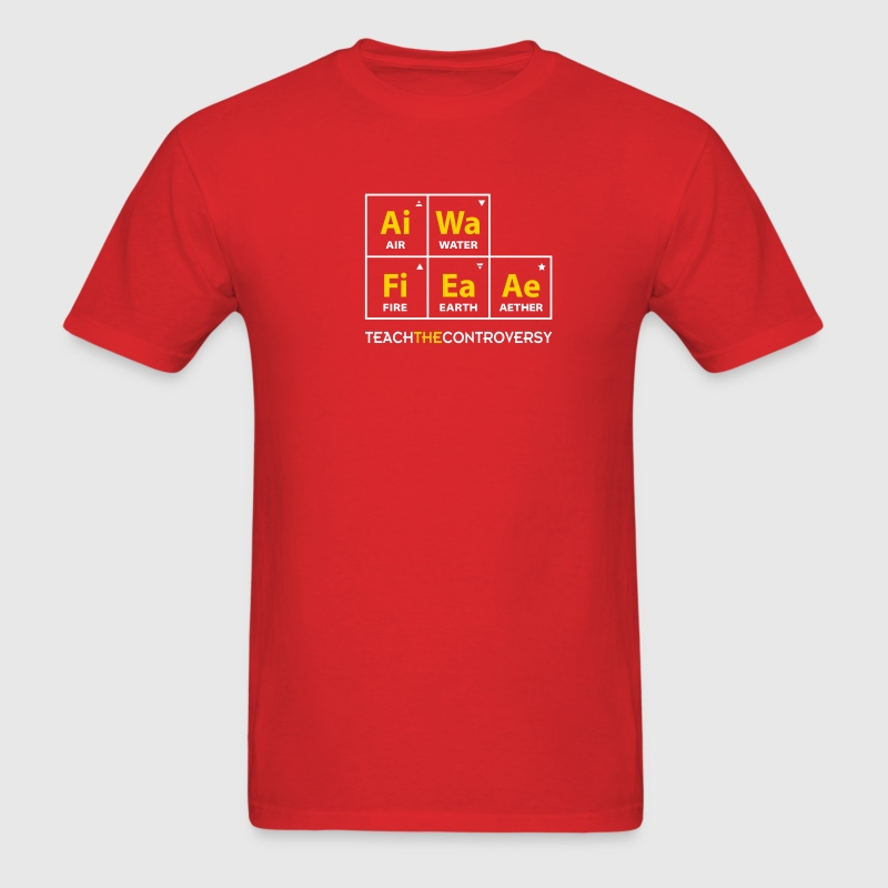 Classical Element Periodic Table T-Shirts - Men's T-Shirt