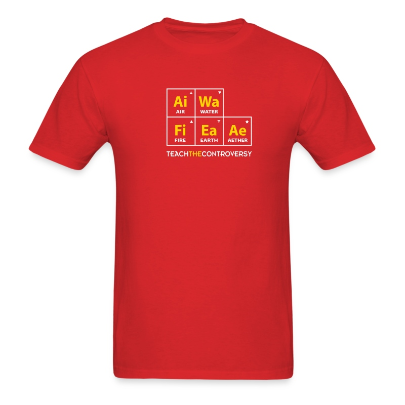 Classical Element Periodic Table T Shirt Spreadshirt