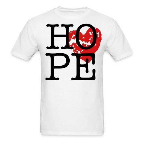 HOPE sign - Men's T-Shirt