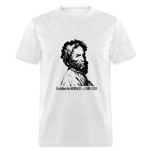 Morales Portrait - Ash - Men's T-Shirt