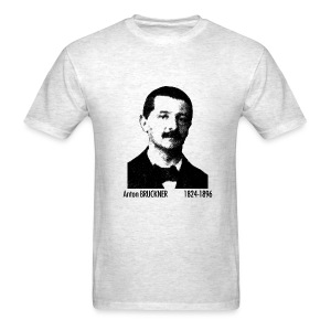 Bruckner Portrait - Ash - Men's T-Shirt