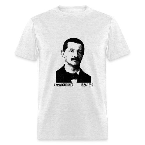 Bruckner Portrait - Ash - Men's T-Shirt