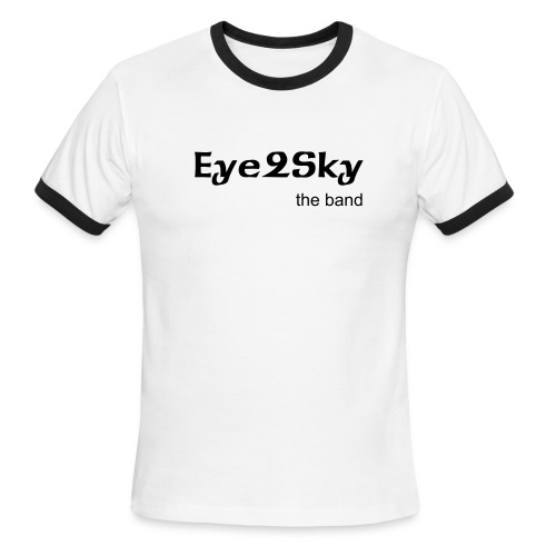 Blue Eye2Sky t-shirt - Men's Ringer T-Shirt