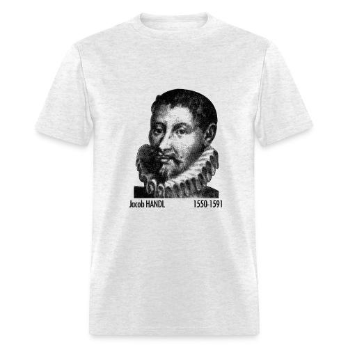 Handl Portrait - Ash - Men's T-Shirt