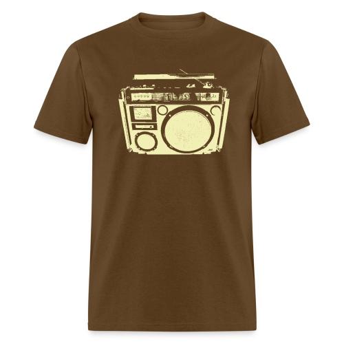 1 speaker Boom Box - Men's T-Shirt