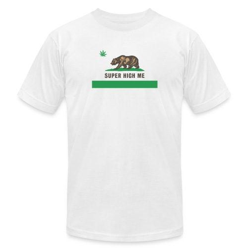 Republic of Super High Me White T-Shirt - Men's  Jersey T-Shirt