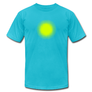 T-Shirts ~ Men's T-Shirt by American Apparel ~ Psychadelic Fading Dot