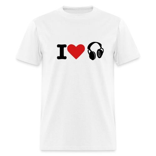 I LUV MUSIC - Men's T-Shirt