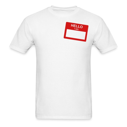 MY NAME IS? - Men's T-Shirt