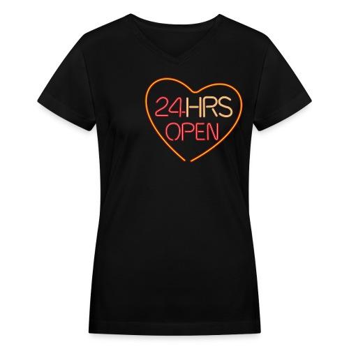 FRETDEM - Women's V-Neck T-Shirt