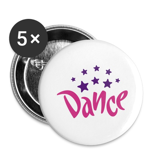 Dance Stars Large Buttons - Large Buttons