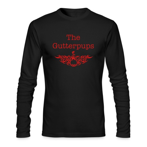 Mens Long Sleeve Fitted T-Shirt The Gutterpups - Men's Long Sleeve T-Shirt by Next Level