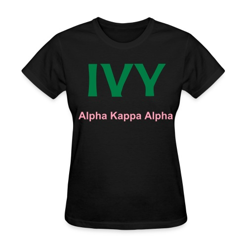 Ivy : Tradition Respected Black - Women's T-Shirt