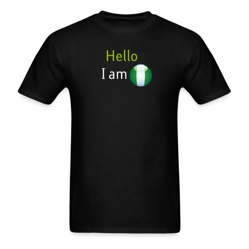 Hello I am Nigerian - Men's T-Shirt
