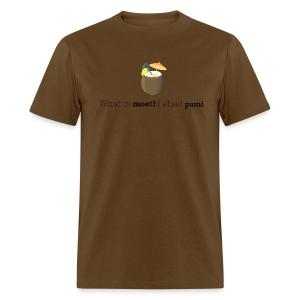 What is moet? I shak Pami - Men's T-Shirt
