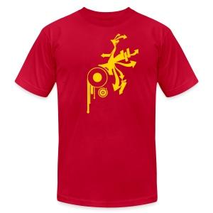 Graffiti Cirles Designer T-shirt - Men's Fine Jersey T-Shirt