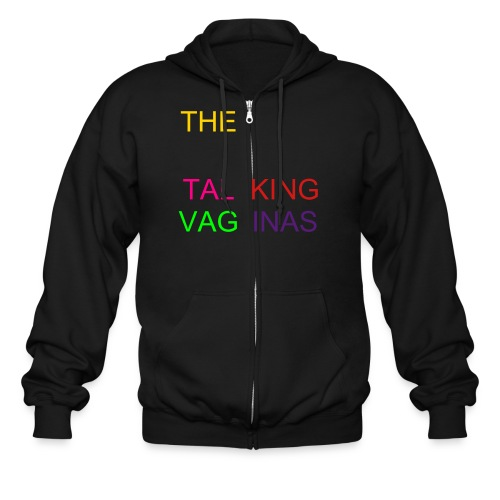 The Talking Vaginas - Men's Zip Hoodie