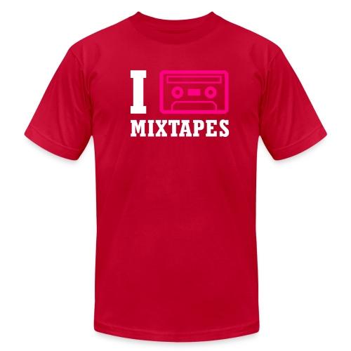 I Love Mixtapes - Men's Fine Jersey T-Shirt