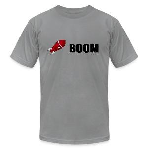 Logo Boom Tee - Men's Fine Jersey T-Shirt