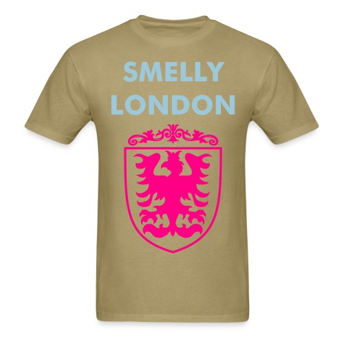 Smelly London crest - Men's T-Shirt