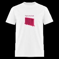 T-Shirts ~ Men's T-Shirt ~ That's Not Cool White