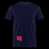 T-Shirts ~ Men's T-Shirt ~ That's Not Cool Blue