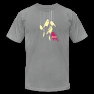 T-Shirts ~ Men's T-Shirt by American Apparel ~ Say Something Birds