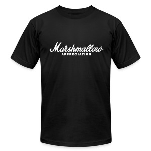 Marshmallow Appreciation AA brand - Men's T-Shirt by American Apparel