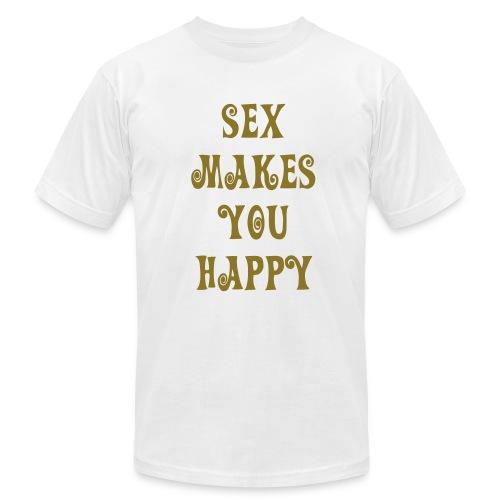 Sex Makes Happy Tee - Men's Fine Jersey T-Shirt